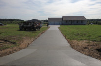 Poured Driveway in Vicksburg