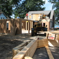 Extensive remodel with addition on Indian Lake