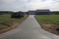 Poured Driveway in Vicksburg